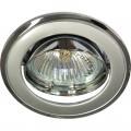 Светильник 301T-MR16 серый-хром