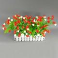 Светодиодные цветы ELVAN 203-06-R+WH