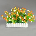 Светодиодные цветы ELVAN 203-06-OR+WH