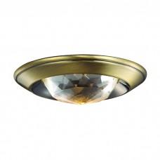 Декоративный встраиваемый неповоротный светильник