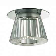 Встраиваемый неповоротный светодиодный светильник, укомплектован блоком питания
