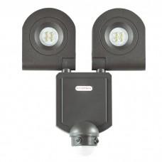 Декоративный светодиодный уличный настенный светильник с инфракрасным датчиком движения