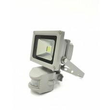 Прожектор c датчиком серый Feron LL-222, арт.12125