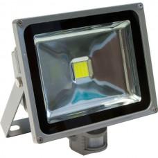 Прожектор c датчиком серый Feron LL-232, арт.12126
