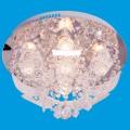 Люстра 10253/4+1CR RC RBPLED