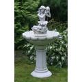 Фонтан садовый Морская сирена с раковиной арт.F1324