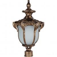 Светильник садово-парковый Feron PL4055 черное золото, арт.11434
